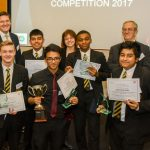 Lord Justice Floyd chairs schools debating competition hosted by Pinsent Masons