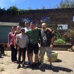 Linklaters volunteers transforming Lincoln Garden