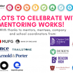 Lots to celebrate with Mentoring Works!